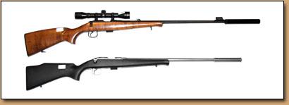 lyddempere til rifler